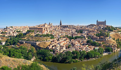 The Holy City of Toledo, Spain