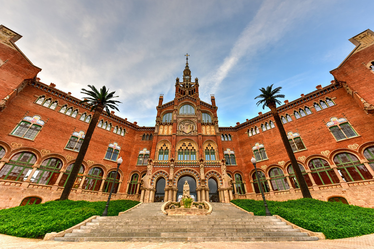 Hospital Sant Pau Recinte Modernista -Barcelona, Spain