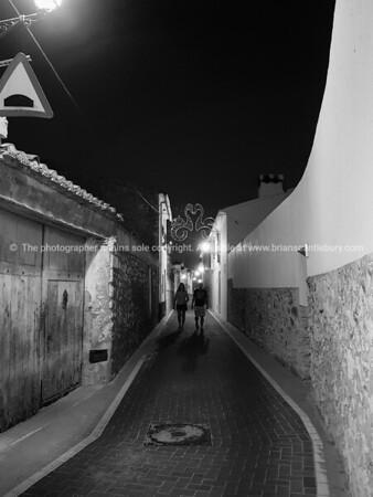 Lliber street night scene