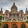 National Palace and Placa de Espanya - Barcelona