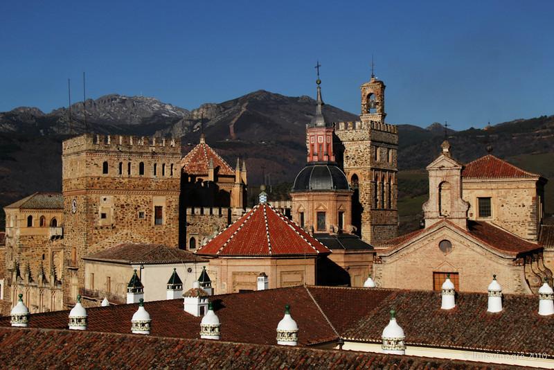 parador y real monasterio de santa maría de guadalupe, cáceres