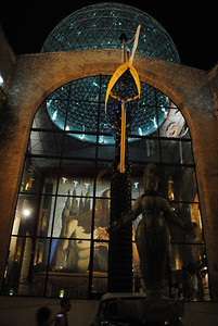 Entrance to Dalí Museum, Figueres