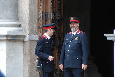 City hall guards