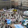 Puerta del Sol plaza in Madrid, May 2011