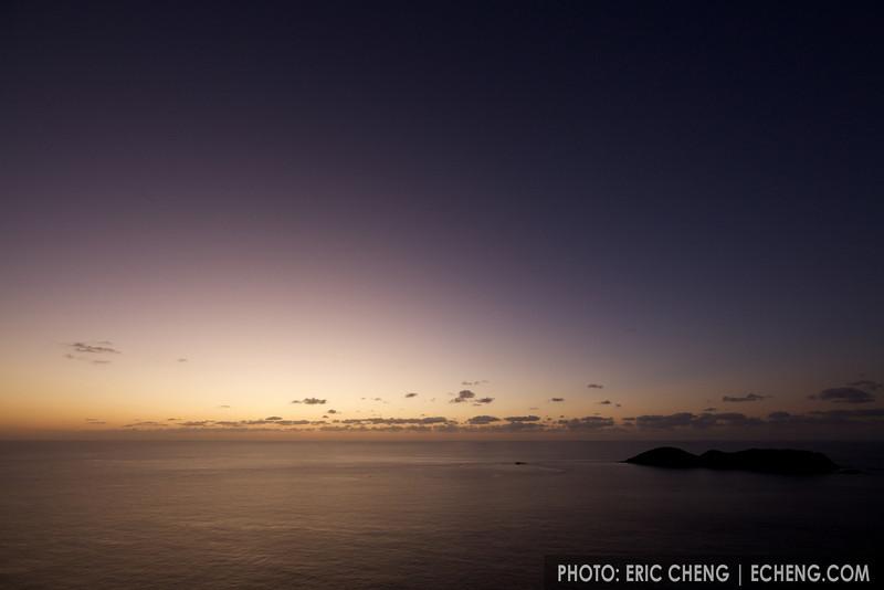 Dusk in the Ogasawara Islands, Japan