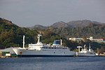 Ferries in the Ogasawara Islands, Japan: the Ogasawara Maru and Hahajima Maru