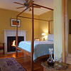 "USA-Sperryville-a bedroom of the ""Hopkins Ordinary B&B.  Each room has a working fireplace"