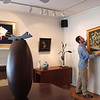 "USA-Sperryville-Andrew Haley-owner of the ""Long View Gallery"""