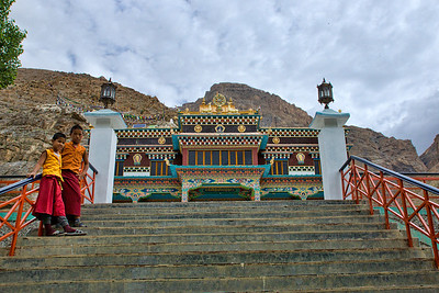 The new SakyaPa monastery built in Kaza