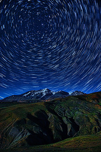 There's the North Star!   Star Trails in the Himalayas! One more dream down!