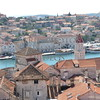 A view of the city of Trogir, Croatia.
