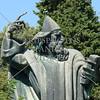 Statue of Gregory of Nin in Split, Croatia.