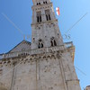 The Bell Tower of the Cathedral of St Lawrence in Trogir, Croatia.