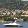 View near the Port of Split in Croatia.