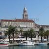 A view of the harbor in Split, Croatia