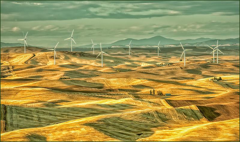 Palouse Windmills