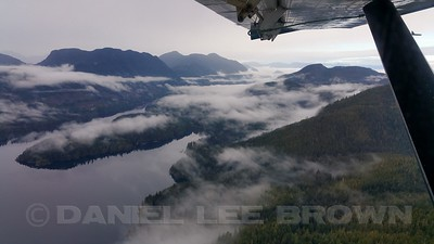 FLOAT PLANE RIDE FROM VANCOUVER ISLAND TO GLENDALE COVE, 10-5-16.