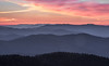 Pre-Dawn Light from Clingman's Dome, Great Smoky Mountains