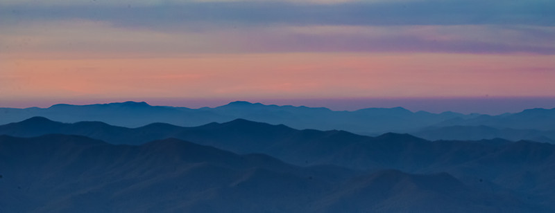 Before Sunrise in the Smoky Mountain