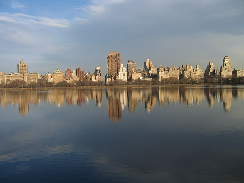 The Resevoir in Central Park.