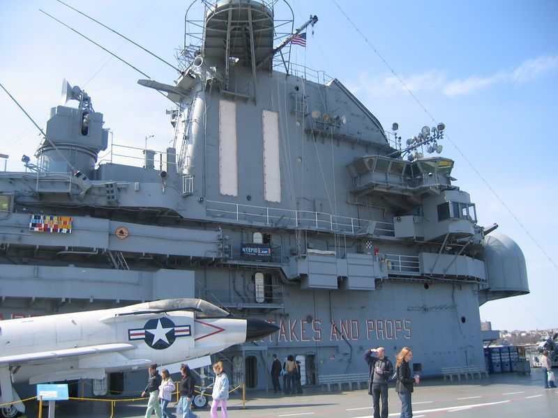 The Intrepid Aircraft Carrier
