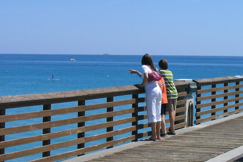 Elizabeth and Jacob at Juno Pier