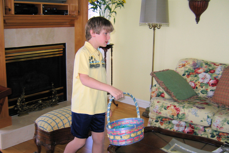 Anthony - Easter egg hunt