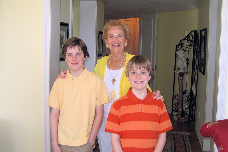Nonna and the boys