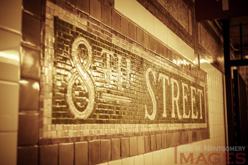 8th Street Freezeout  - Manhattan's West Side, NYC