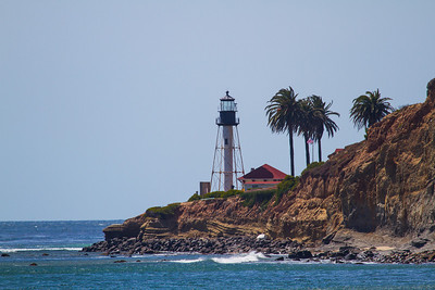 The new Point Loma Lighthouse - literally right on the point of the point.
