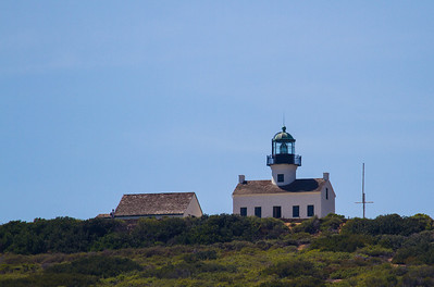 The old Point Loma Lighthouse