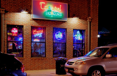 Tropical Liqueurs, downtown Springfield, Missouri. I've never been inside, but next time I get the urge for something fruity, I think I know where to go.