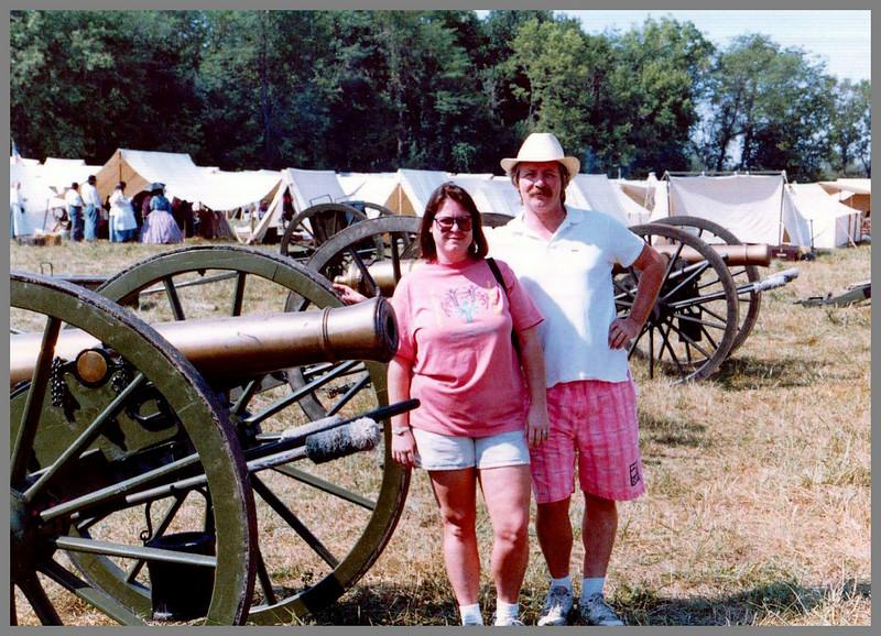 Joe and Becky - Wilson Creek - Civil War Battle