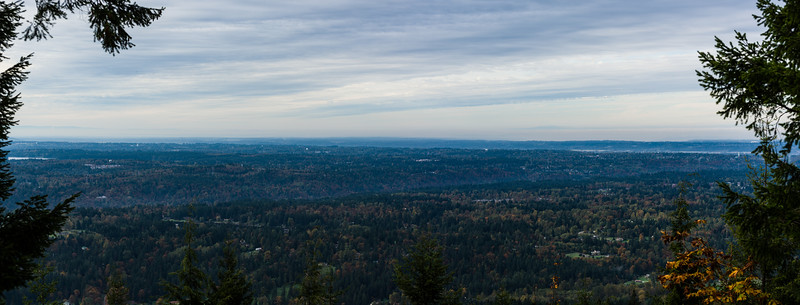 Looking SW from Squak Mountain