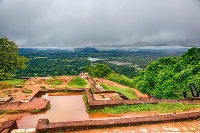 Sigiriya rock - rocktop palace