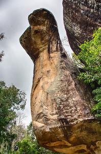 Cobra's head cave - Sigiriya