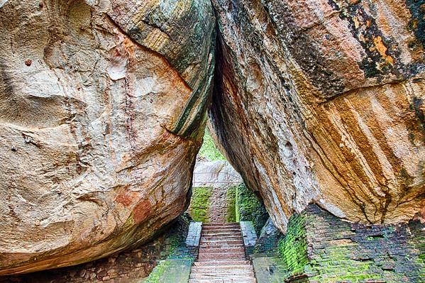 Sigiriya - natural arch