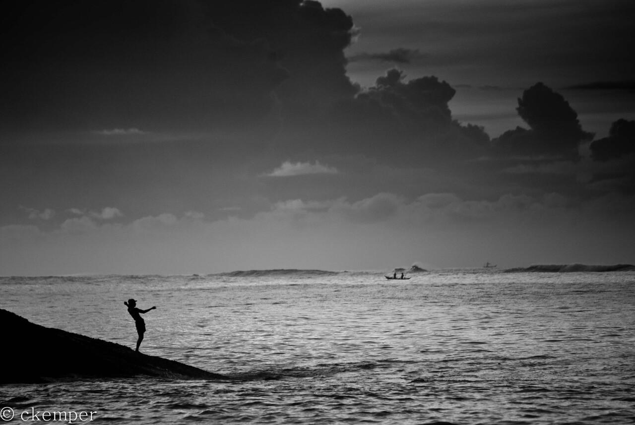 Morning fishing<br /> Sri Lanka