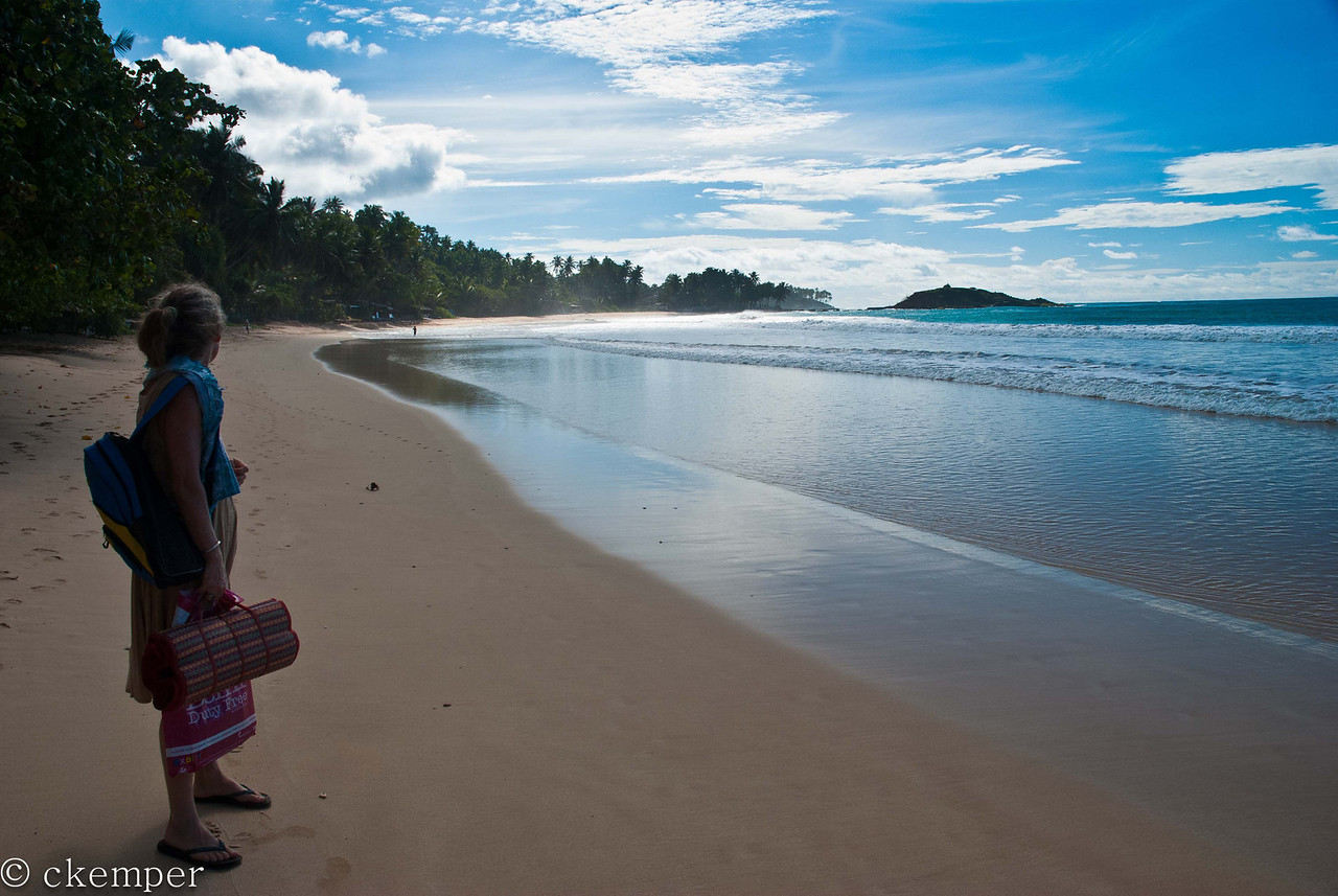 So many choices...<br /> Mirissa Beach, Sri Lanka