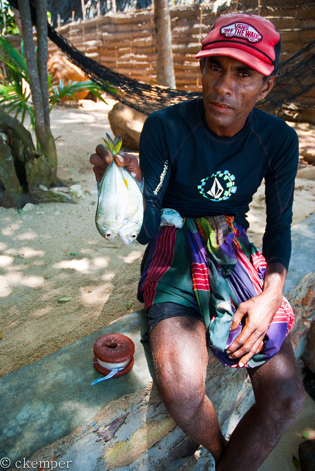 Fisherman's Catch<br /> Sri Lanka