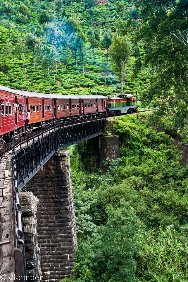 Train from Ella to Colombo, Sri Lanka