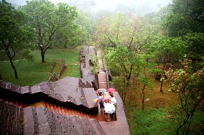 Stairs up the Sigirya