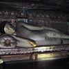 Dambulla cave temple - reclining Buddha