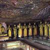 Dambulla cave temple Buddhas