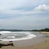 Vast empty beach near Lansiya