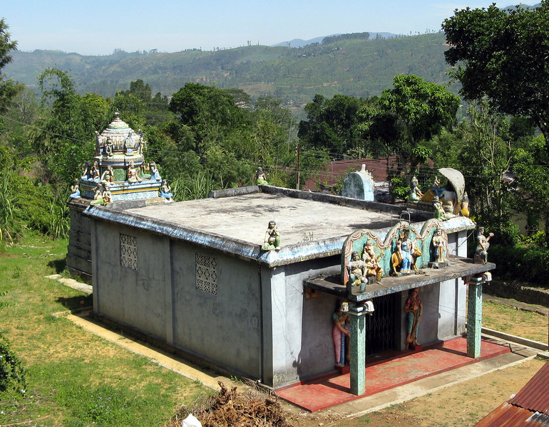 Hindu temple seen on Norwood-Tientsin hike