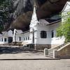 Dambulla cave temples exterior
