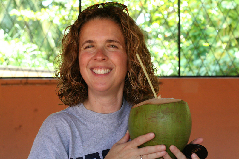 Ever drank from a fresh coconut?  It's not as good as you'd think...
