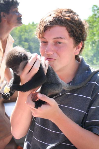 Monkeys, no matter how cute, still freak me out.