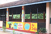 The mural that the ISKL kids painted.